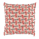 Modern Chic Throw Pillow (Ties)
