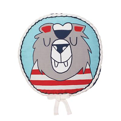 Nautical Throw Pillow (Bear)