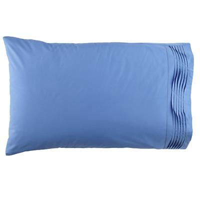Pinch and Pleat Blue Pillowcase