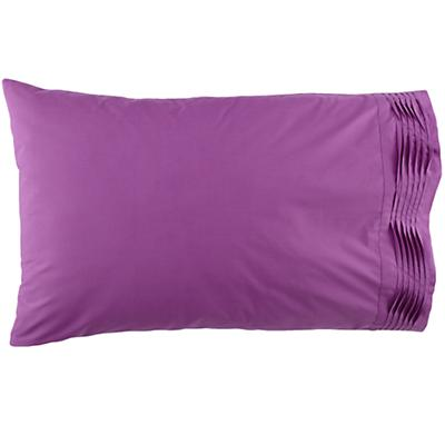 Pinch and Pleat Purple Pillowcase