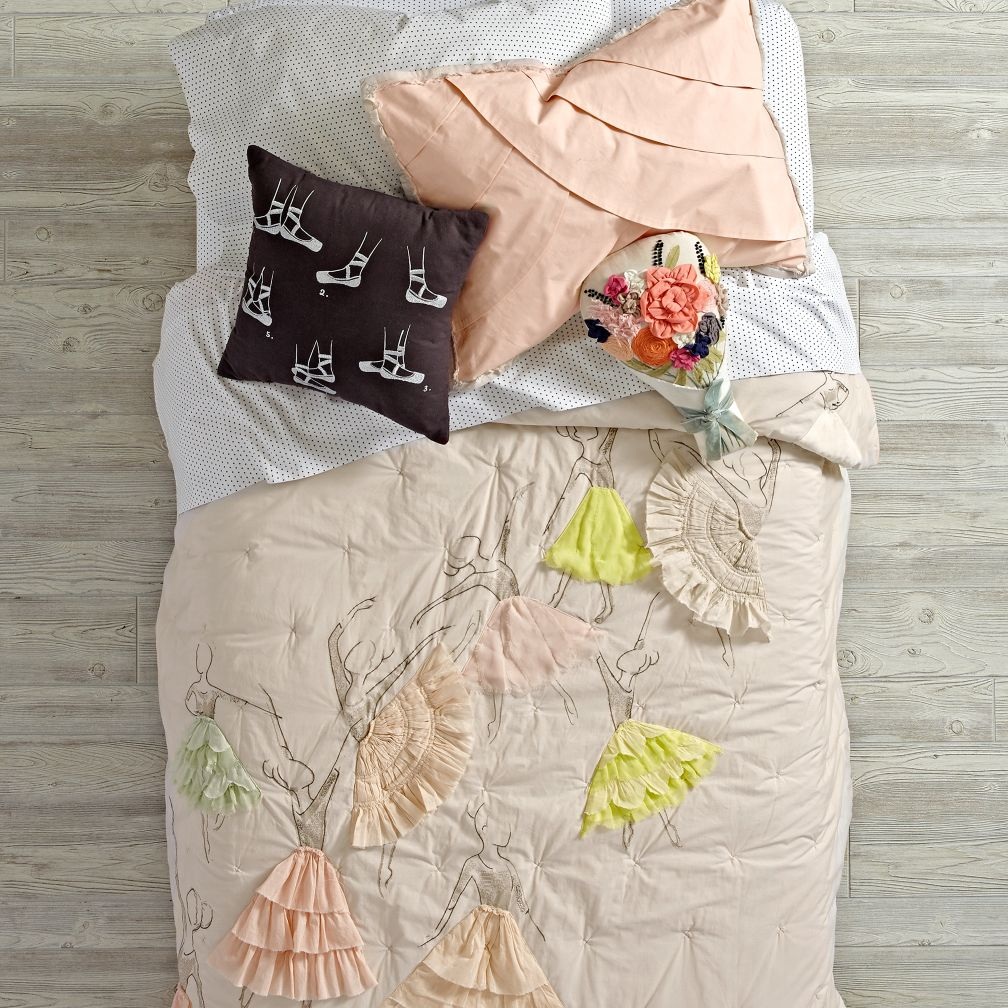 Pirouette Bedding and Quilt
