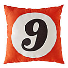 #9 Throw Pillow.