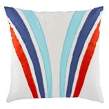 Racing Stripe Throw Pillow