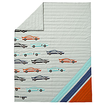 Twin Pit Crew Quilt