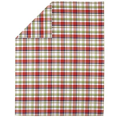 Pick Your Plaid Blue Duvet Cover (Twin)