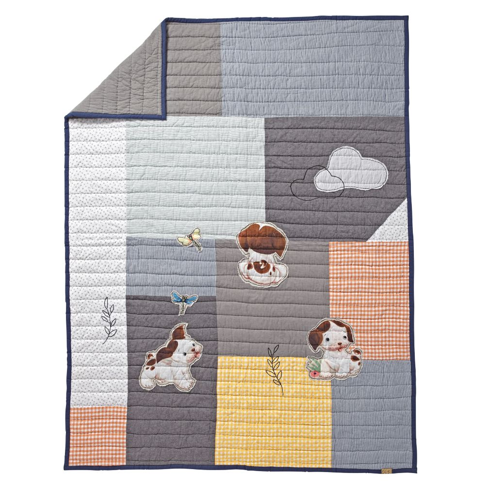 Poky Little Puppy Quilt (Full-Queen)