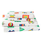 Full Prism Pattern Sheet SetIncludes fitted sheet, flat sheet and two pillowcases