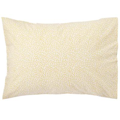 Puzzle Patch Yellow Floral Pillowcase