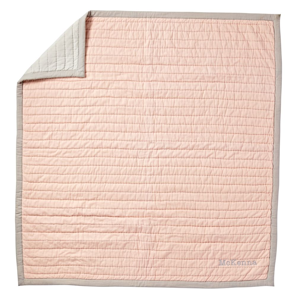 Cotton Candy Baby Quilt (Pink)