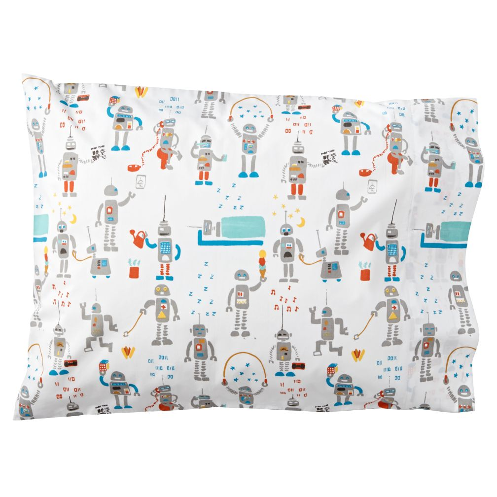 Rad Robot Pillowcase