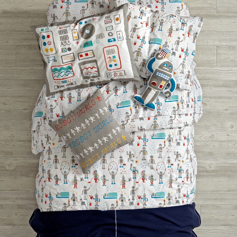 Rad Robot Bedding and Duvet Cover