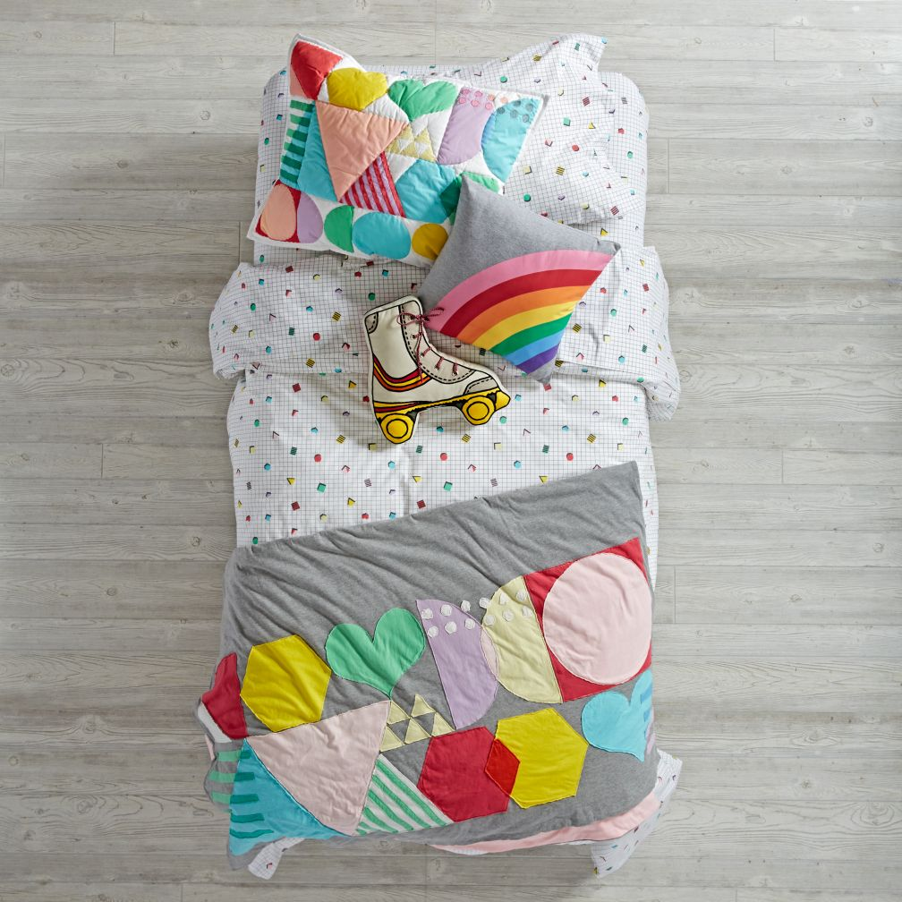 Rainbow Charm Duvet Cover