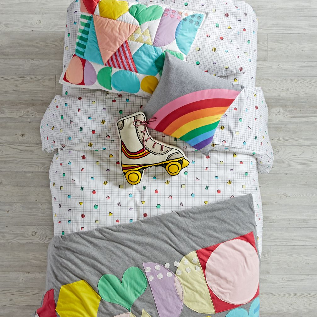 Rainbow Charm Bedding