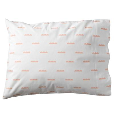 Rosy Cloud Flannel Pillowcase