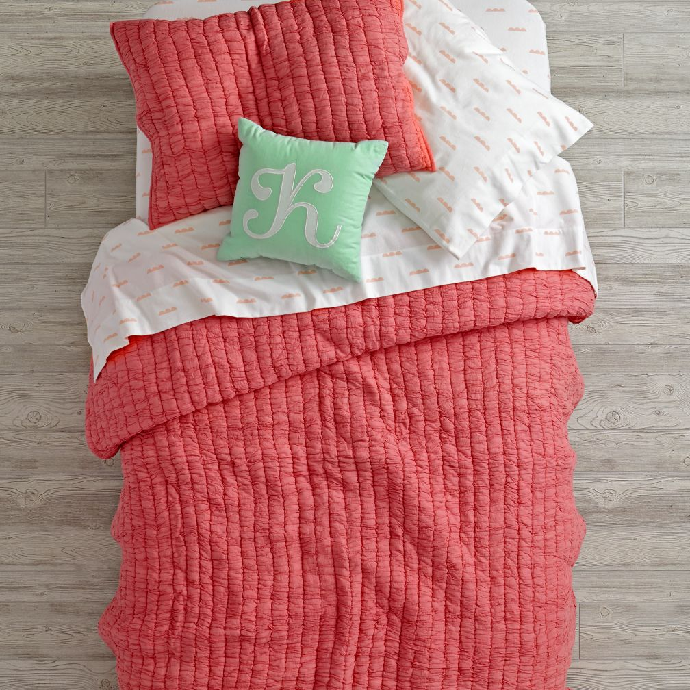 Rosy Cloud Bedding and Quilt