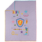 Twin Save the Day Girl Quilt
