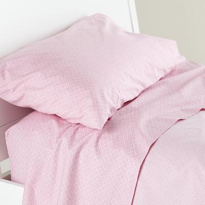 Printed Pink Diamonds Pillowcase