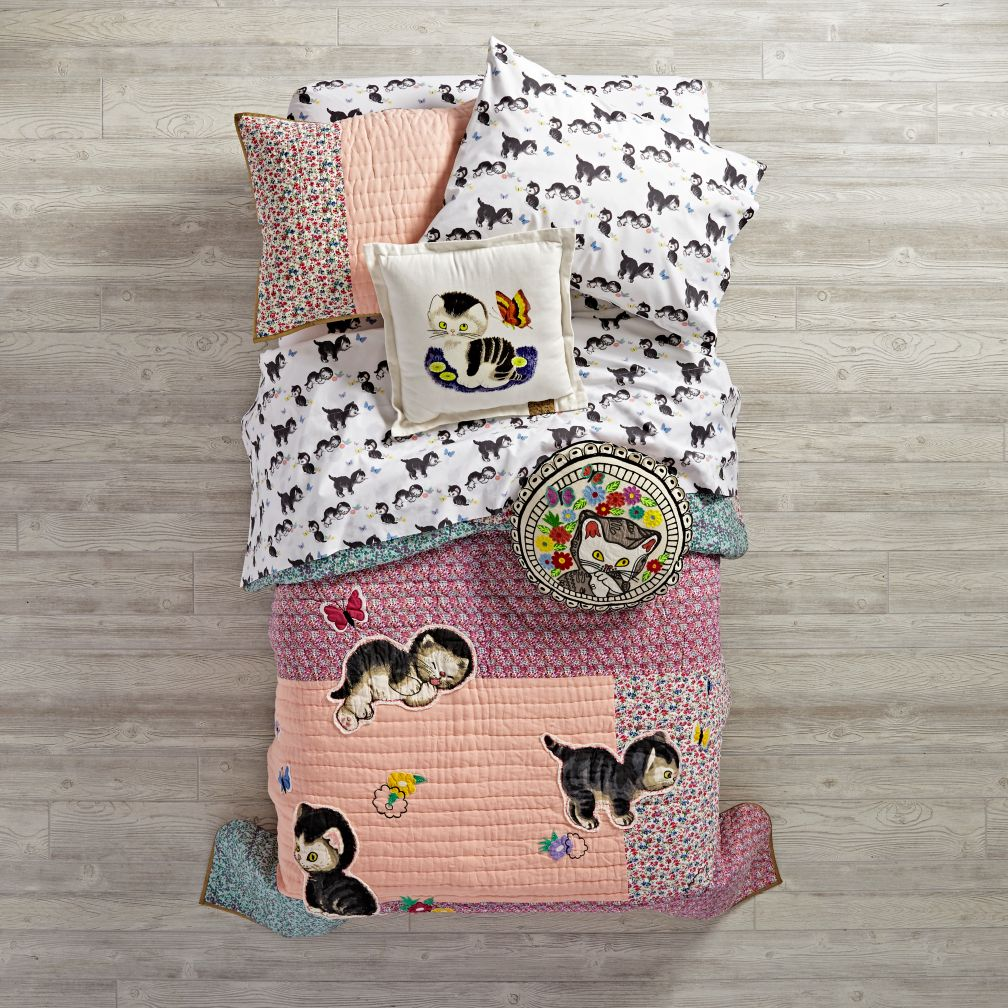 Shy Little Kitten Quilt