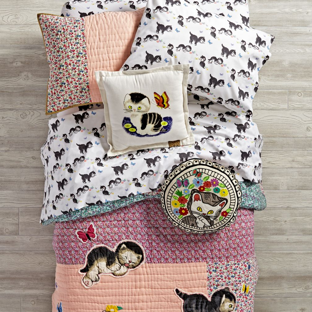 Shy Little Kitten Bedding