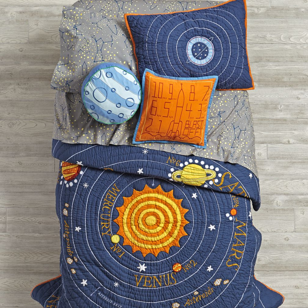 All Solar Systems Go Bedding