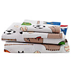 Full Athletic Commission Sheet SetIncludes fitted sheet, flat sheet and two pillowcases