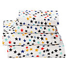 Full Superstar Jersey Sheet SetIncludes fitted sheet, flat sheet and two pillowcases