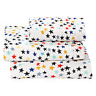 Twin Superstar Jersey Sheet SetIncludes fitted sheet, flat sheet and one pillowcase