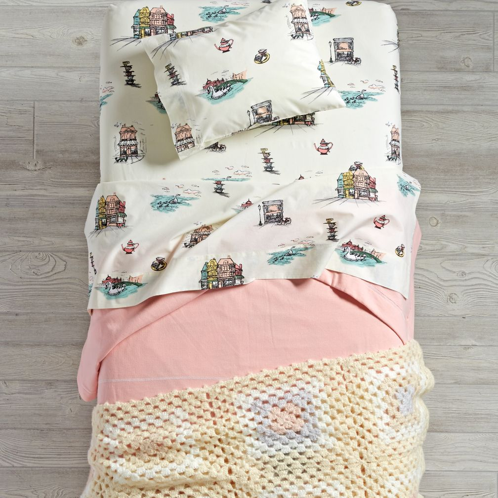 Afternoon Tea Toddler Bedding