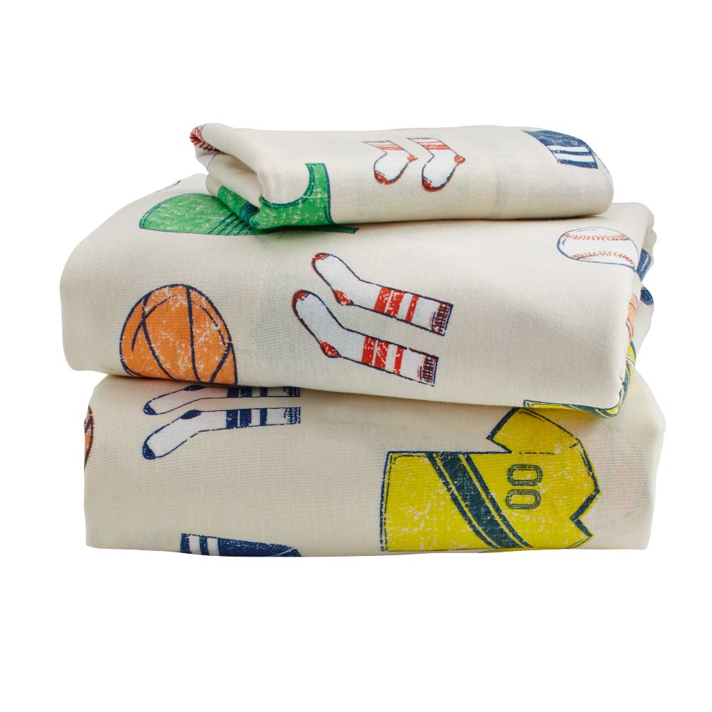 Big League Toddler Sheet Set
