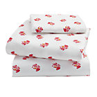 Bohemian Garden Toddler Sheet SetIncludes fitted sheet, flat sheet and one toddler pillowcase