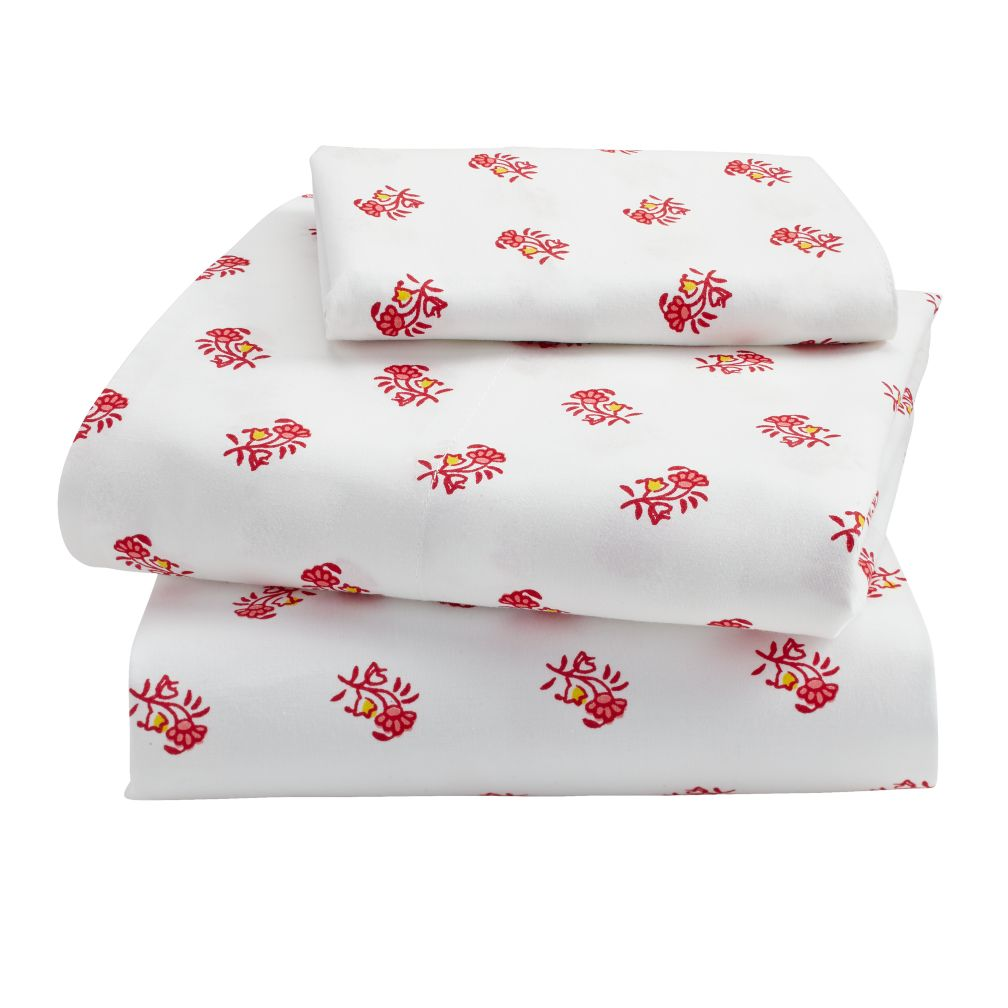 Bohemian Garden Toddler Sheet Set