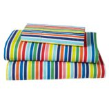 Candy Stripe Toddler Sheet Set (Multi)