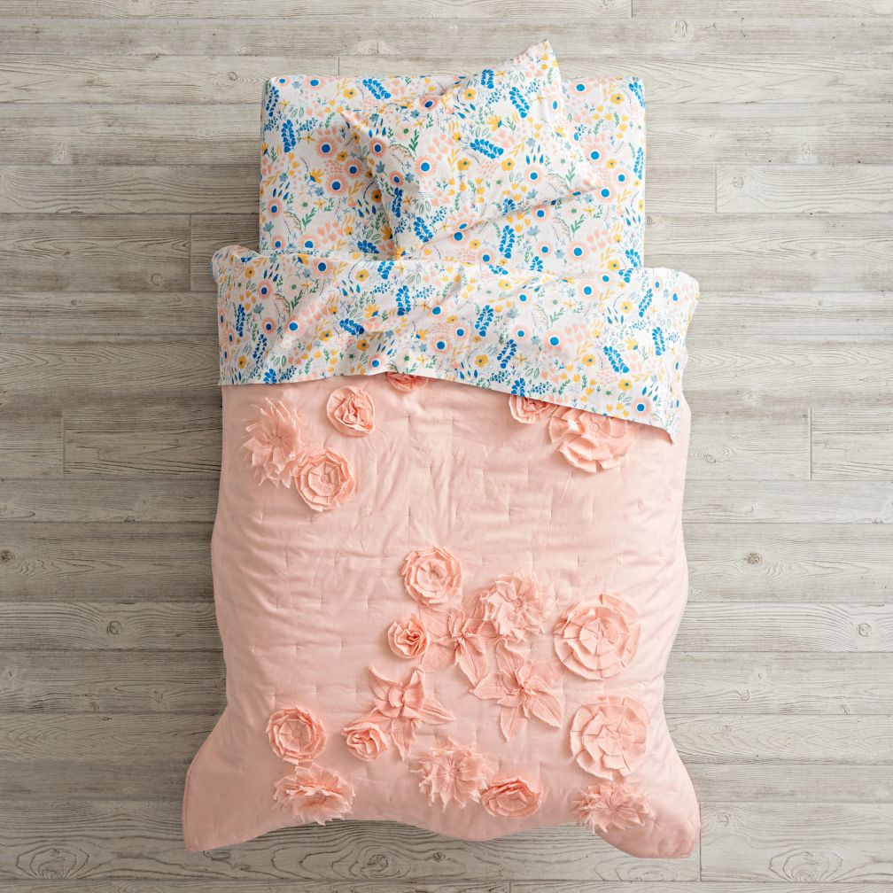 Floral Rush Toddler Bedding