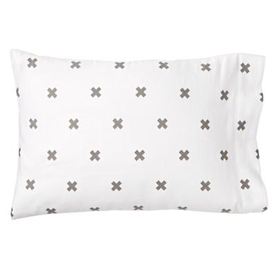 Crisscross Toddler Pillowcase
