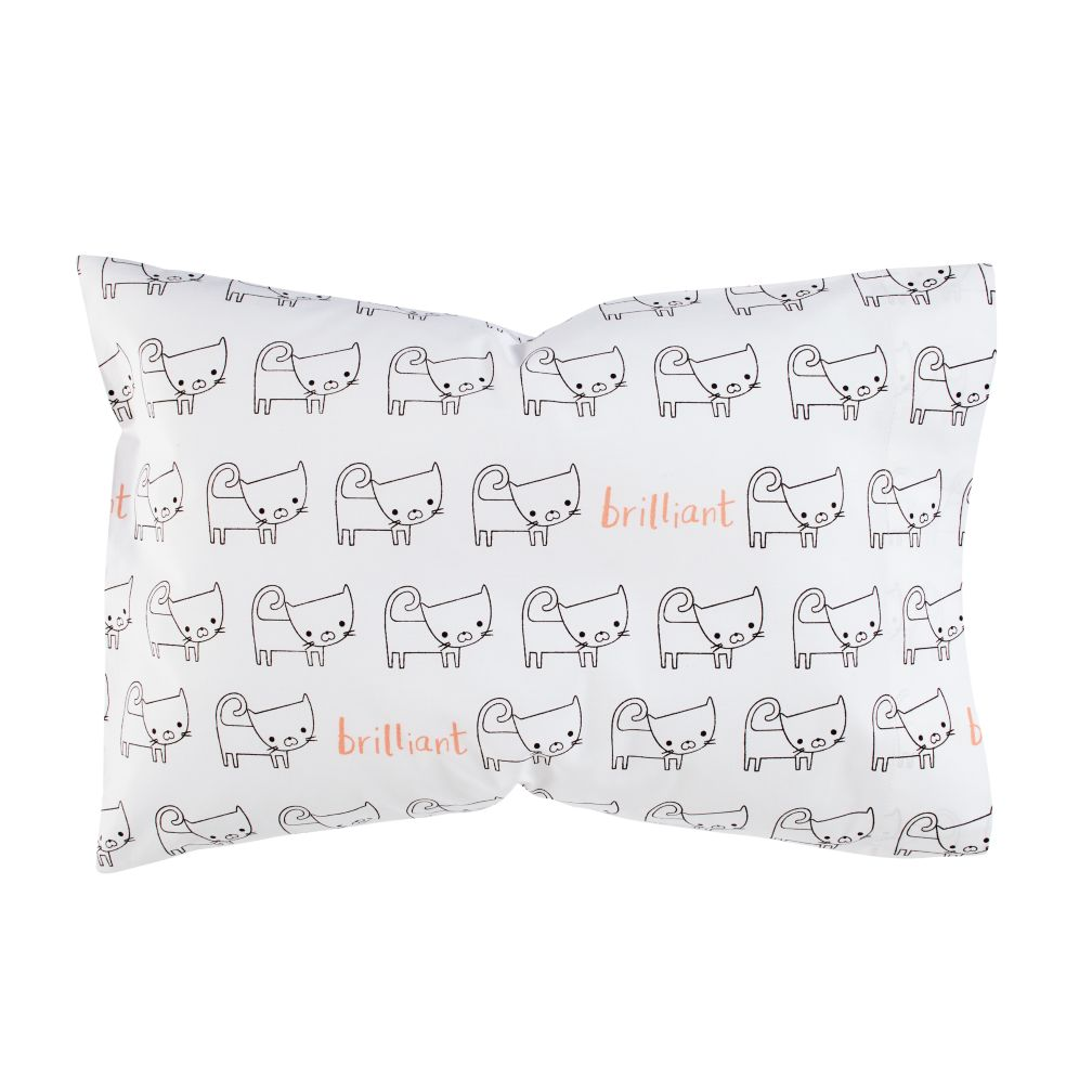 Early Edition Toddler Pillowcase (Cat)