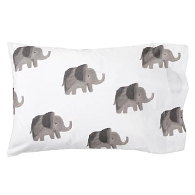 Wild Excursion Elephant Toddler Pillowcase