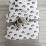 Wild Excursion Elephant Toddler Bedding