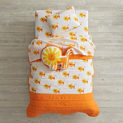 Wild Excursion Lion Toddler Bedding