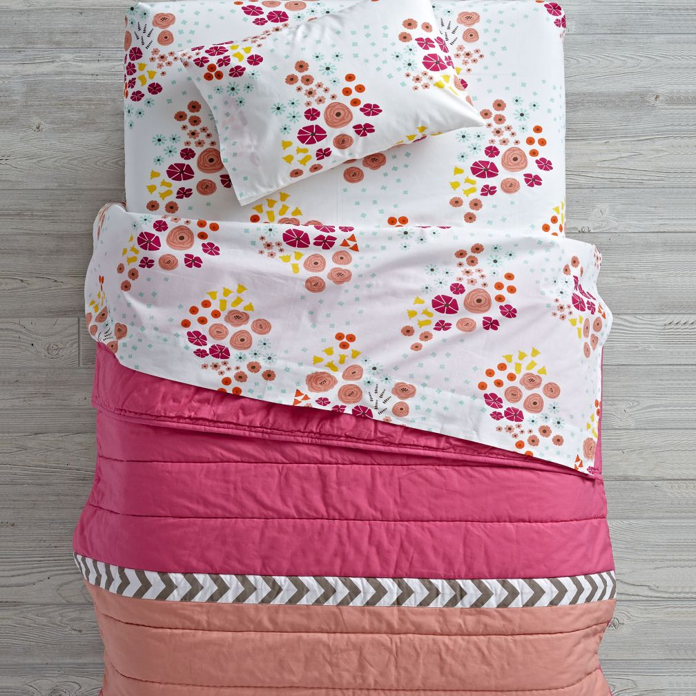 Flower Show Toddler Bedding