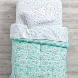 Go Lightly Toddler Bedding (Mint)