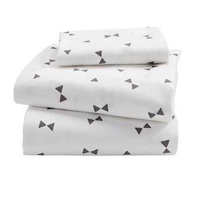 Bedding_TD_Go_Lightly_Sheet_Set_Triangle_GY_LL