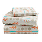 High Plains Toddler Sheet SetIncludes fitted sheet, flat sheet and one toddler pillowcase
