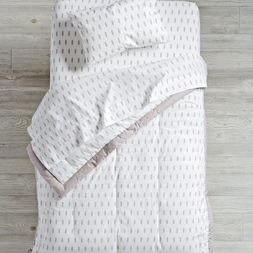 Iconic Toddler Bedding (Feather)