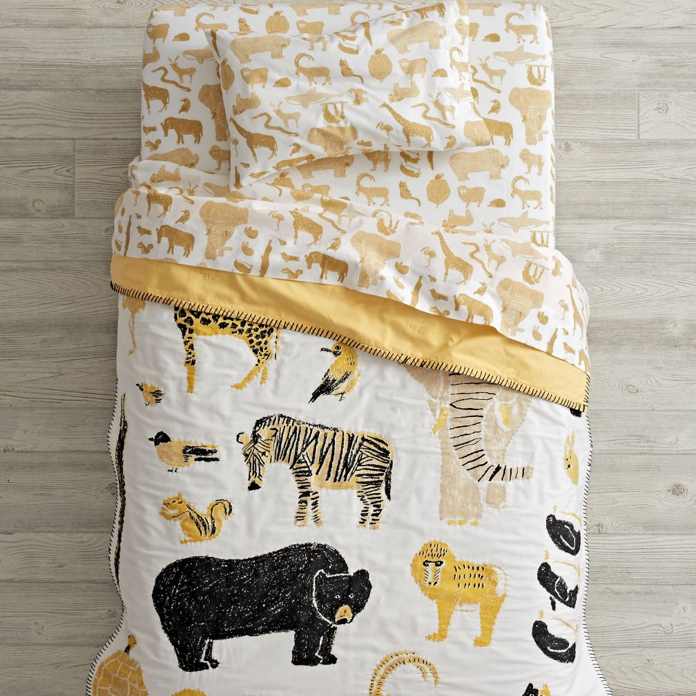 Menagerie Toddler Bedding