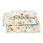 Nature Trail Toddler Sheet SetIncludes fitted sheet, flat sheet and one toddler pillowcase