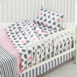 Hop to It Toddler Bedding