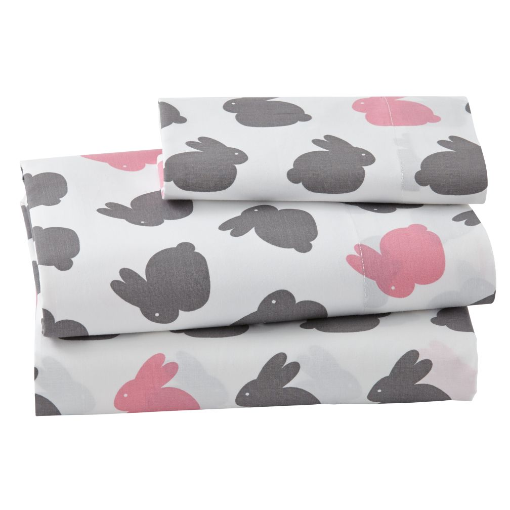 Hop To It Toddler Sheet Set