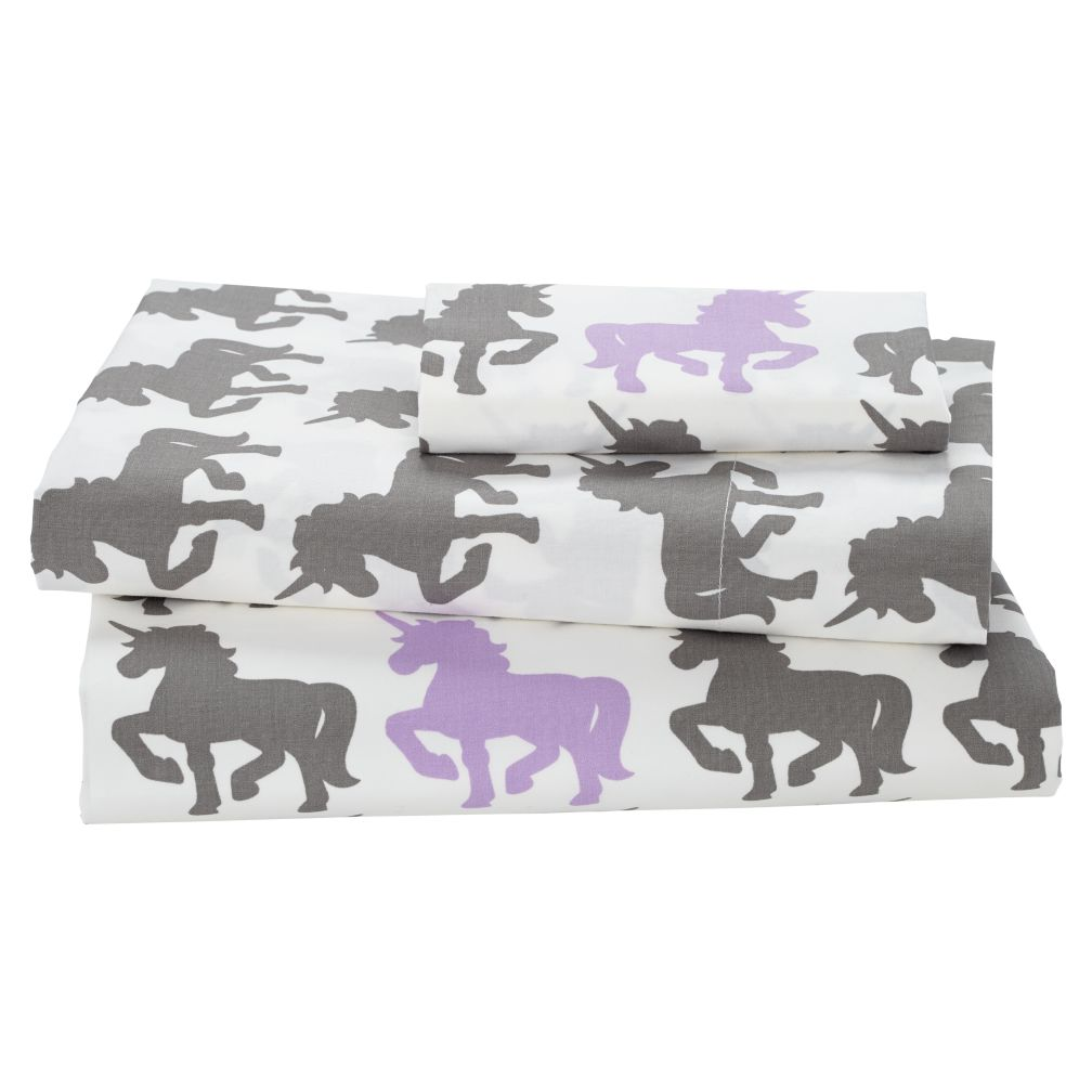 Unicorn Parade Toddler Sheet Set
