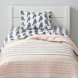Poodle Party Toddler Bedding