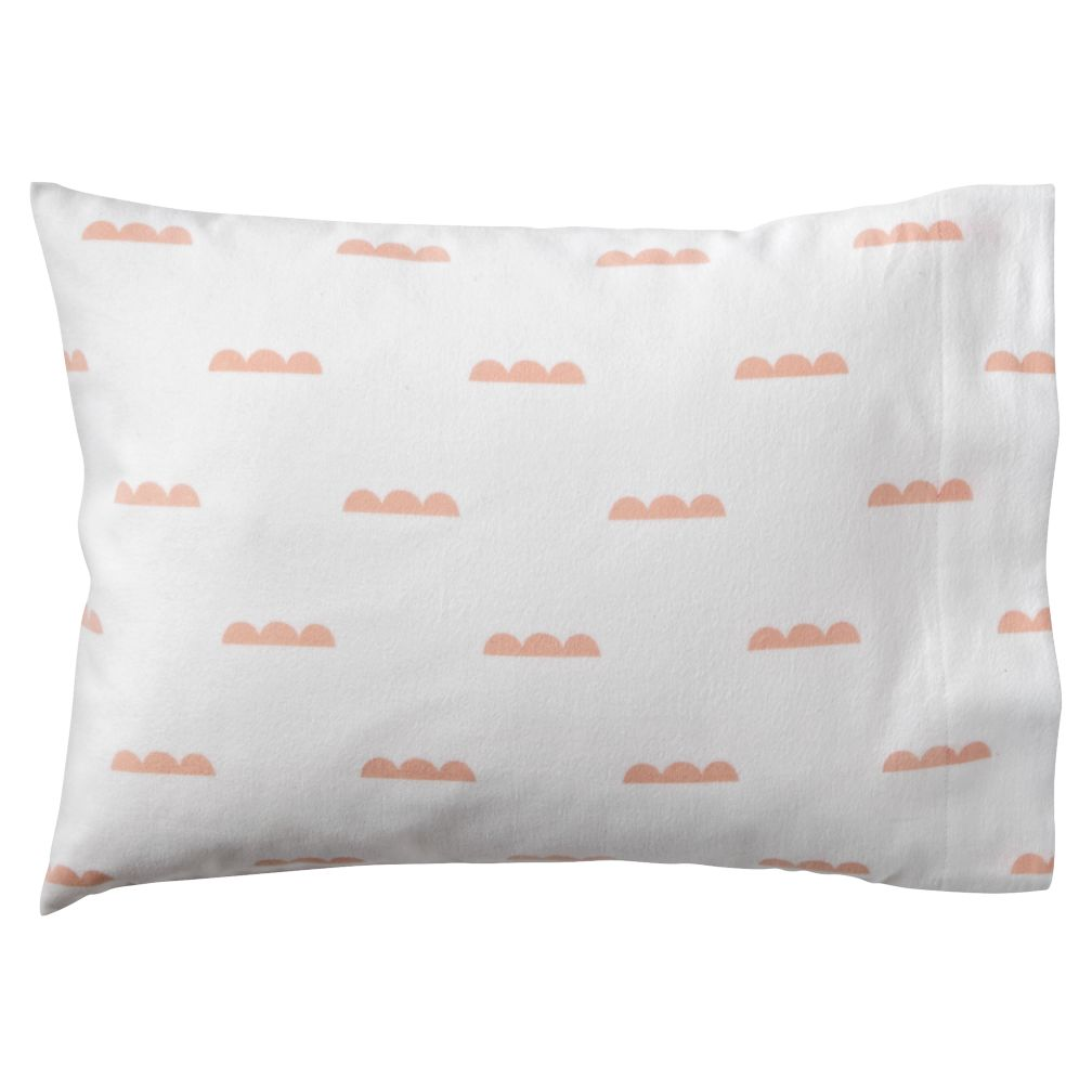 Rosy Cloud Toddler Pillowcase